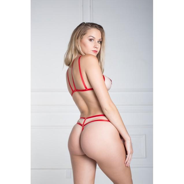 Lola Red - Erotic Body Lingerie
